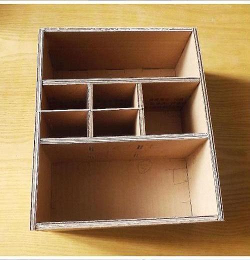 Как из коробок сделать шкафчик