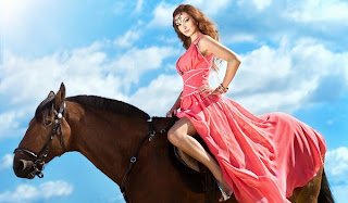 Orgasmo por montar... caballos