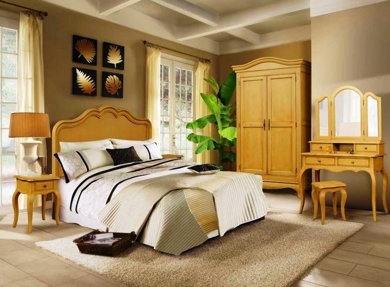 Dormitorul de mahon