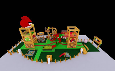 Projeto parques Angry Birds