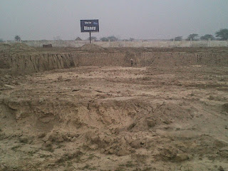 Golf Country, Yamuna Expressway :: Construction Status on July 2014 :-Fable Castle