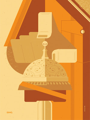 Breaking Gifs Limited Edition Breaking Bad Screen Prints - Hector Salamanca by Tom Whalen