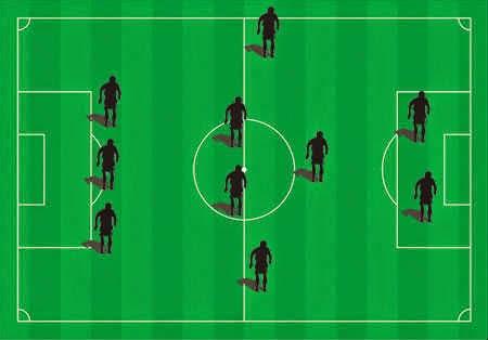 Formasi Sepakbola Paling Populer