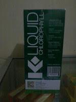 K-Liquid Khlorophyll minuman dengan antioksidan tinggi