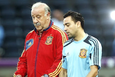 Xavi wants to take part in the FIFA World Cup 2014, said Chief Spain coach Vicente Del Bosque