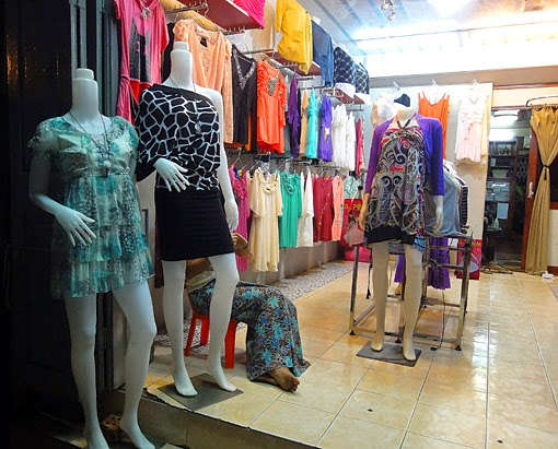 Yangon fashion shop