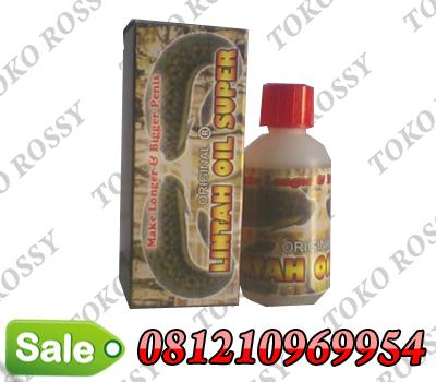 minyak lintah oil super asli alat penis