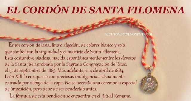 EL CORDÓN DE SANTA FILOMENA