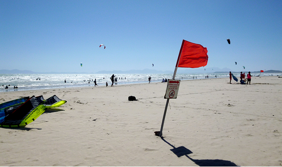 Ynas Reise Blog | Südafrika - Der Strand von STRAND