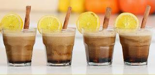 Minuman Tradisional Teh Talua khas Padang