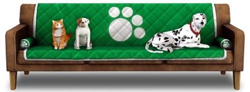 Iams et les Sims Pets : sofa gratuit