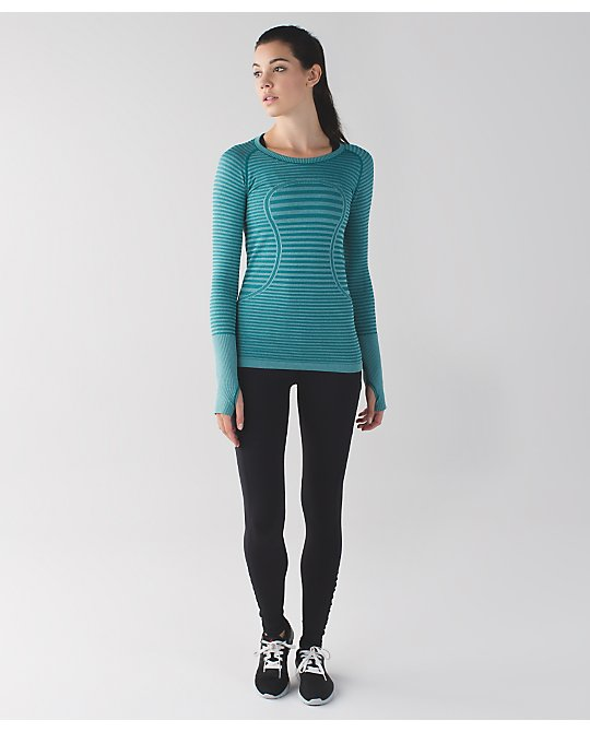 lululemon forage-teal-ls