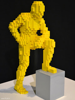 yellow brick man