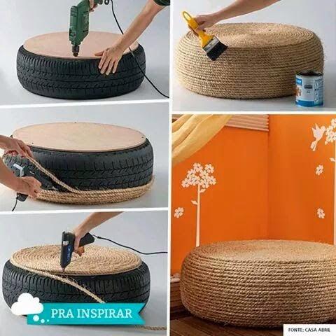 Idea recycle Tayar Terbuang # 2