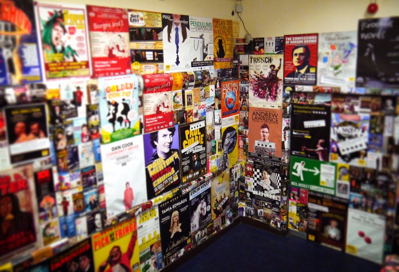 Edinburgh Fringe Pleasance Dome Posters