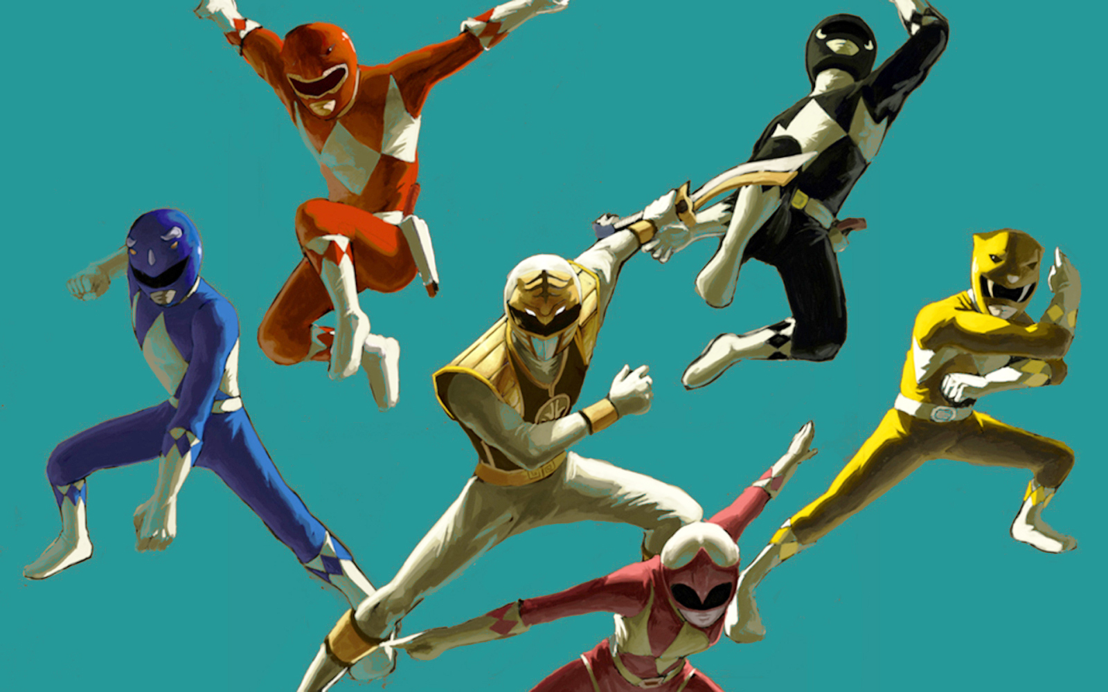 Power Rangers Desktop Wallpapers HD