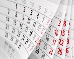 Гортаючи сторінки календаря