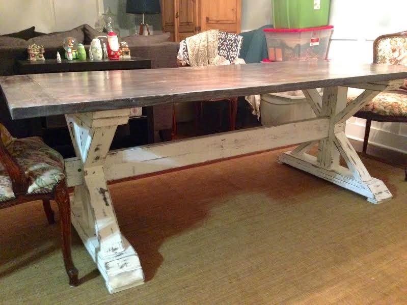 Restoration Hardware Dining Table Knock Off Aniahs Window - Restoration hardware dining table knock off