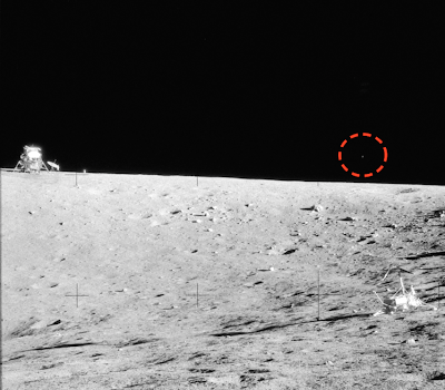 UFO Caught On Moons Surface Apollo 12, UFO Sightings