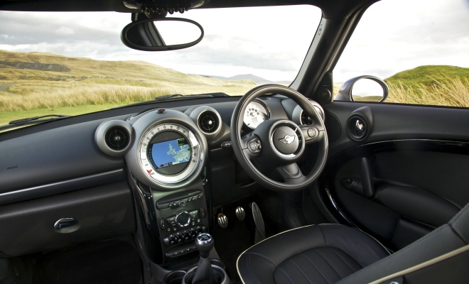 Mini Countryman Cooper SD interior