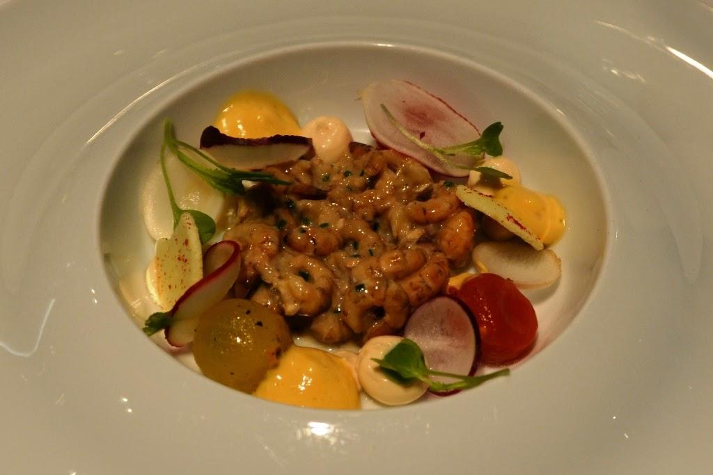 Restauraunt Sel Gris Knokke Northsea shrimps