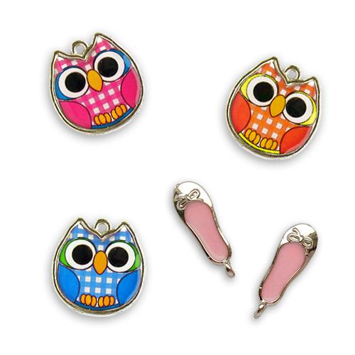 цветные шармики, подвески, pendants
