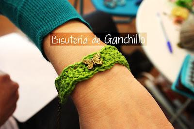 BISUTERIA CON GANCHILLO