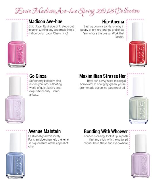 Essie Spring Nail Colours -