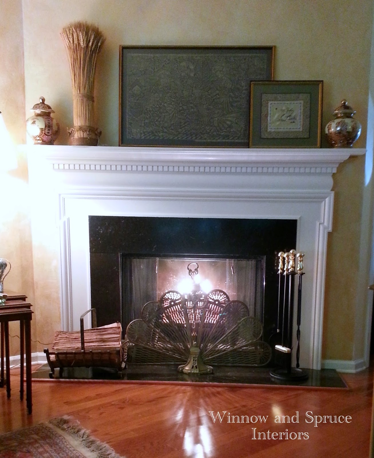 winnow and spruce my mantel and hearth 15 different ways
