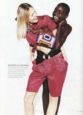 Kinee Diouf pour Elle Finland