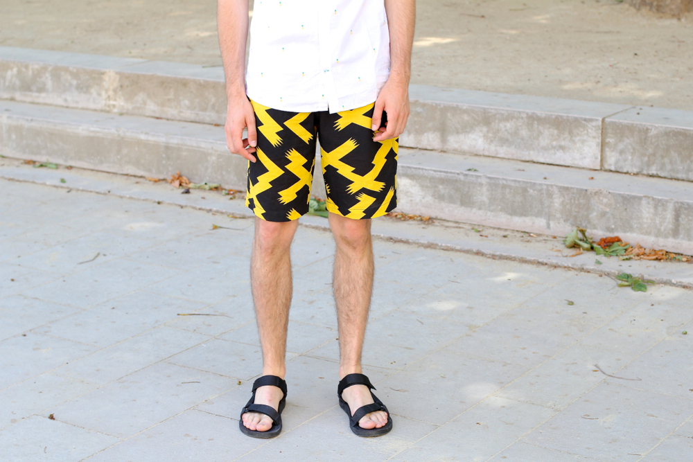 BLOG-MODE-HOMME_Kabuki-Uniqlo_Short_Brice-chemise-ananas-tenadance-fashion-preppy_sandales_Teva_Mensfashion