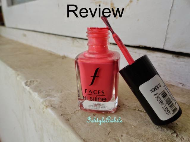 Summer Ma(Y)gic #13: REVIEW: Faces High Shine nail enamel in 41 Fashionista image