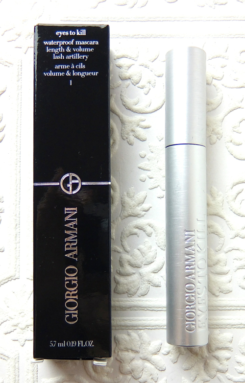 Giorgio Armani Eyes To Kill Waterproof Mascara review