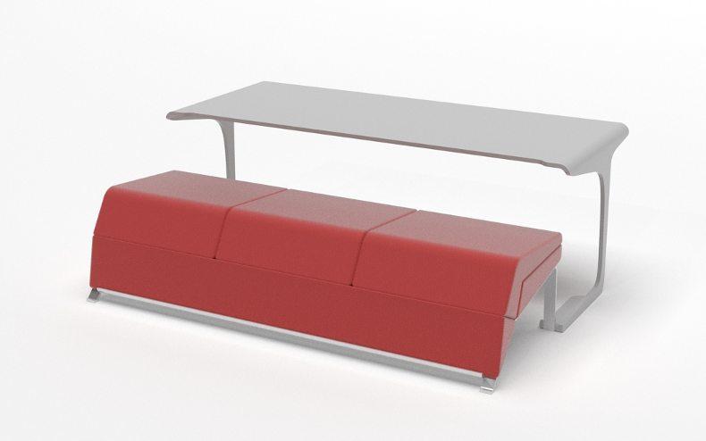 Marzua livdin sof y mesa en el mismo mueble - El mueble sofas ...
