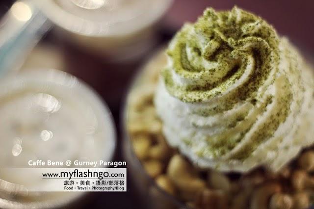 槟城美食 | 韩式挫冰 Bingsu @ Caffe Bene Gurney Paragon
