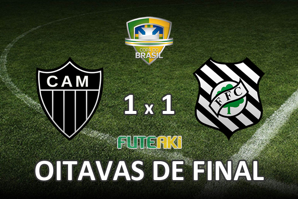 Veja o resumo da partida com os gols e os melhores momentos de Atlético-MG 1x1 Figueirense pelas oitavas de final da Copa do Brasil 2015.