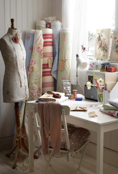 Chicdeco Blog | Cuartos de costura y otras aficionesSewing rooms and ...
