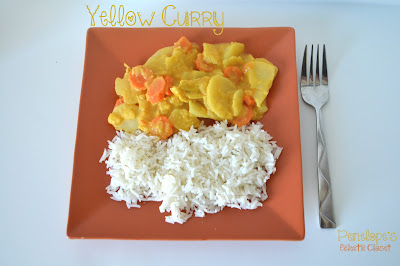Yellow Curry Recipe. Top 10 Post Features from Pin It Monday Hop #18