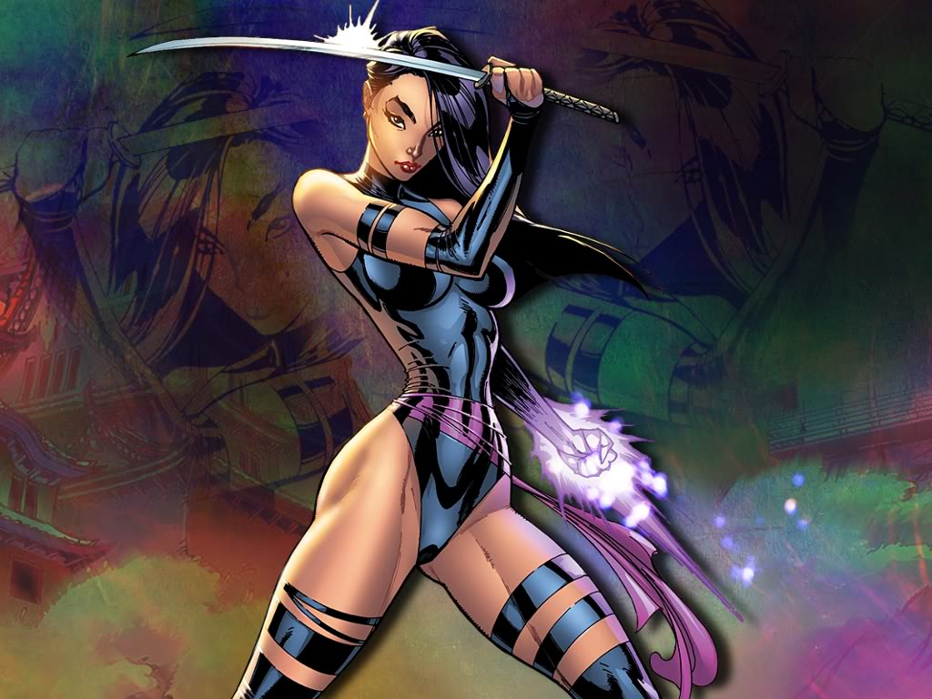 Kelsey Cooley Psylocke Wallpaper