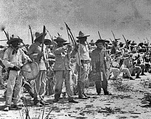 Batallón de Yaquis en el ejercito de Alvaro Obregon
