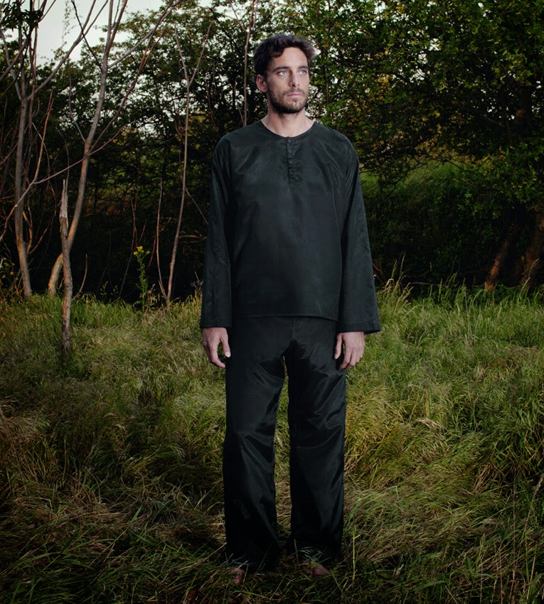 Reisepyjama aus Seide-Baumwolle für Herren von Traveler´s Tree