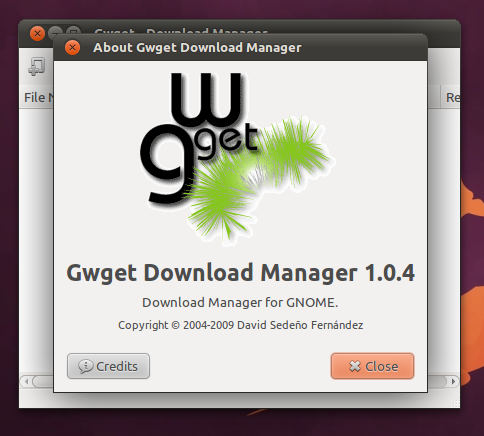 how to use gwget  manager