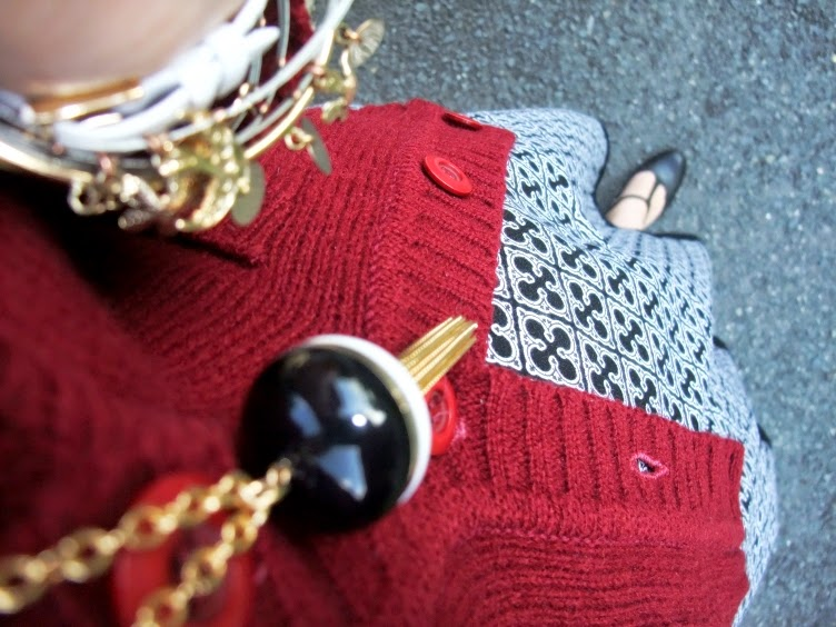 angora, bordeaux, cardigan, handmade, diy, dress, lolita, Japan, Tamaris, Mohito, gold, bracelet, wristwatch, black, white
