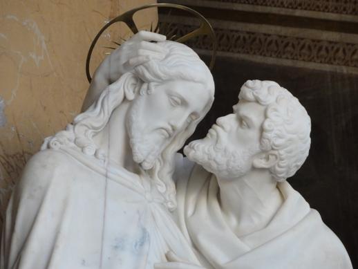 Resultado de imagem para beijo do judas