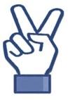 Peace emoticon