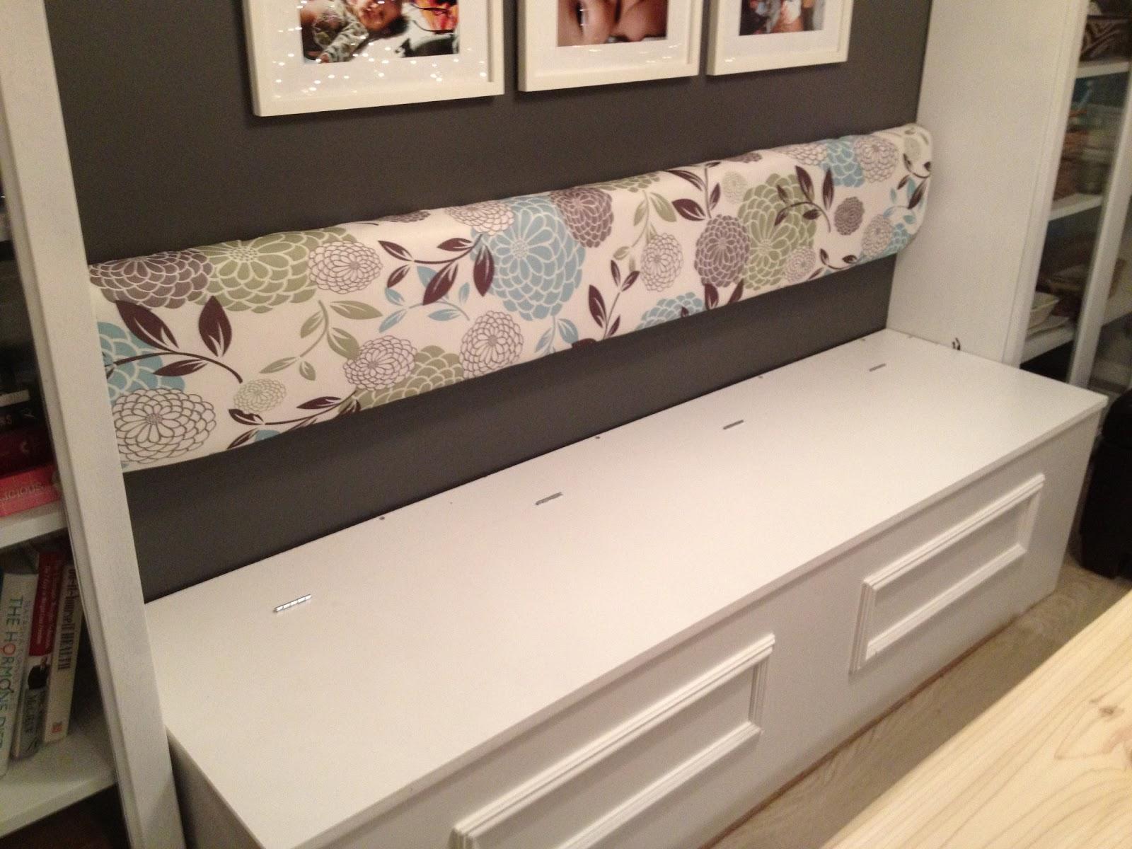 Zen shmen diy banquette storage bench - Kitchen banquette with storage ...