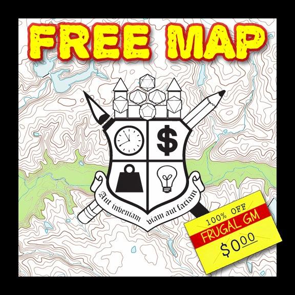 Free Map043: Clarkesburg Caverns