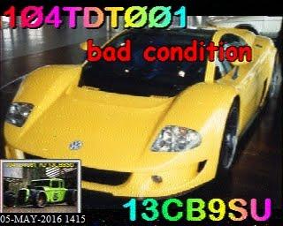 104TDT001 SSTV