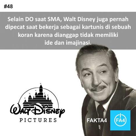 Walt Disney Dianggap Tidak Memiliki Imajinasi