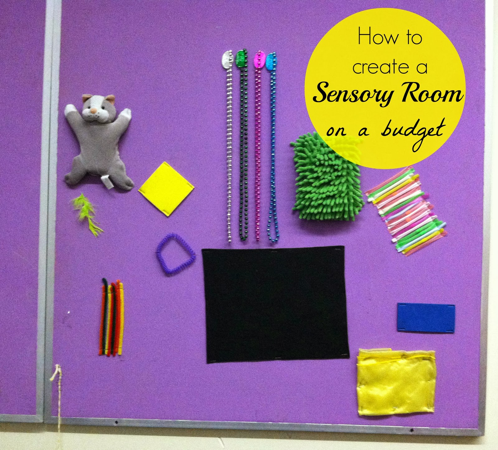 Classroom Ideas On A Budget ~ Little miss kim s class tips for creating a sensory room